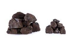 Carvão de Brown foto de stock