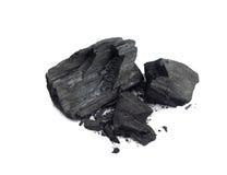 Carvão de madeira fotos de stock