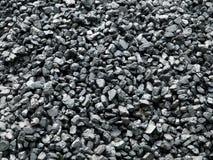 Carvão empilhado acima Fotos de Stock Royalty Free