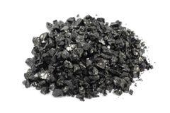 Carvão esmagado Fotografia de Stock Royalty Free