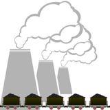 Carvão industry-2 Fotografia de Stock