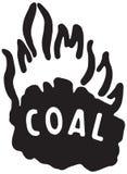 Carvão 2 ilustração royalty free
