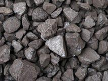 Carvão preto Foto de Stock Royalty Free