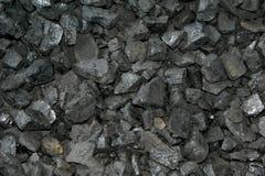 Carvão preto Fotografia de Stock