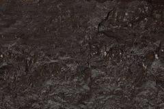 Carvão preto fundo textured Fotografia de Stock