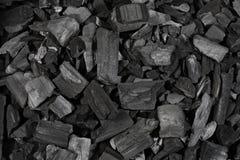 Carvão vegetal Fotografia de Stock Royalty Free