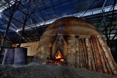 Carvão vegetal de madeira Foto de Stock