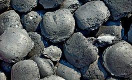 Carvão vegetal para a grade imagem de stock