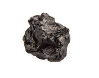 Carvão vegetal sobre o fundo branco III fotografia de stock royalty free