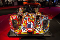 CARVALHO de ART Car que compete a costela Foto de Stock Royalty Free