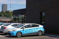 CARVANA car with branding wrap