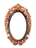 Carve frame Royalty Free Stock Images
