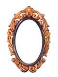 Carve frame. Wood carve frame vintage style Royalty Free Stock Images