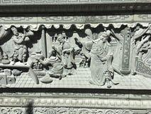 God carve stone Stock Photos