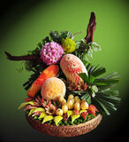 The carve the vegetables and the fruit from Thailand Stock Photos