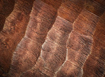 Carved brown board wood Stock Photography