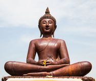 Carved of Buddha Stock Photography
