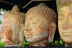 Carved buddha stone statue Stock Image