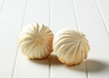 Carved button mushrooms Stock Photos