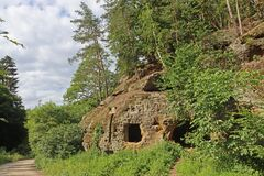 Carved caves and rock dwellings
