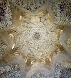Carved Ceiling Star royalty free stock photo