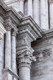 Carved columns Royalty Free Stock Images
