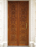 Carved door Royalty Free Stock Image