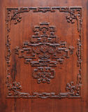 The carved door Royalty Free Stock Image