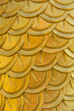 Carved dragon scales of measurement Stock Photos