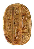 Carved egyptian symbols Royalty Free Stock Images