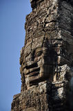 The Bayon Khmer temple at Angkor Wat Stock Photo