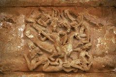 Free Carved Figure Of Kartikeya Aihole, Bagalkot, Karnataka Stock Photos - 121381663