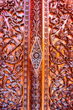 Carved flowers, Liana carved, carved doors and windows Royalty Free Stock Photo