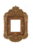 Carved Frame for picture useful as icon case Stock Photo