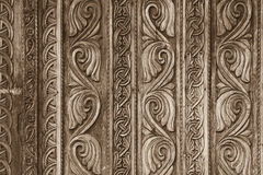 Carved gate Royalty Free Stock Photo