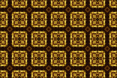 Carved golden ornament, Seamless pattern texture. Stock Photography