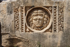 Carved Greek masks Royalty Free Stock Image