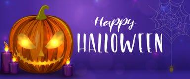 Scary Halloween illustration Royalty Free Stock Photo