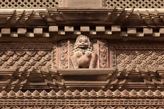 Carved hindu sculpture Stock Image