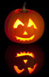 Carved Jack O Lantern Stock Images