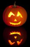 Carved Jack O Lantern Stock Images
