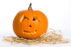 Carved Jack O Lantern Stock Photos