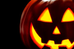 Carved Jack O Lantern Royalty Free Stock Images