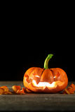Carved jack o' lantern Royalty Free Stock Photography