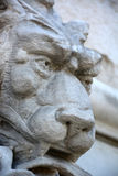Carved lion head Royalty Free Stock Photos