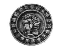 Carved Mayan calendar Stock Image