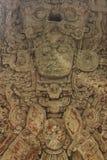 Carved Mayan stella, Copan ruins, Honduras Stock Image
