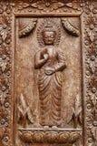Carved medicine Buddha Stock Photos
