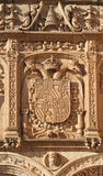 Carved ornamental facade Royalty Free Stock Photos