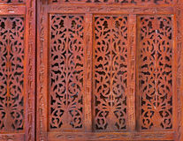 Carved pattern Royalty Free Stock Photos